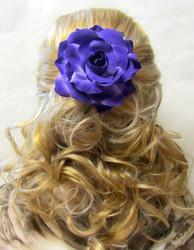 Pukukukka/Hiuskukka Violetti Ruusu