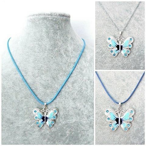 Pieni sininen perhoskaulakoru