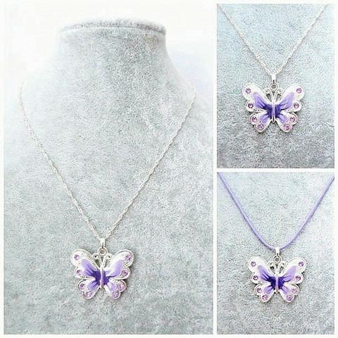 Pieni violetti perhoskaulakoru
