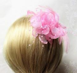 Näyttävä Pukukukka / Hiuskukka  Vaaleanpunainen