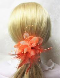 Näyttävä Pukukukka / Hiuskukka Oranssi
