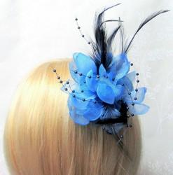Näyttävä Pukukukka / Hiuskukka Sininen