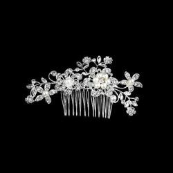 Hiuskampa Kukkia