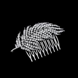 Sulka / Höyhen kimalteleva kristallikampa