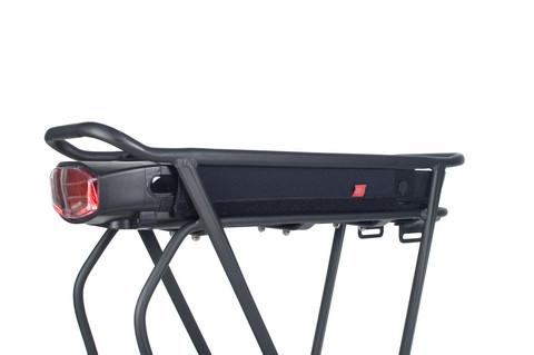 Fahrer - sähköpyörän yleismallinen tavaratelineakun suoja