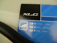 XLC Riser Bar 630mm / 50mm MTB-ohjaustanko
