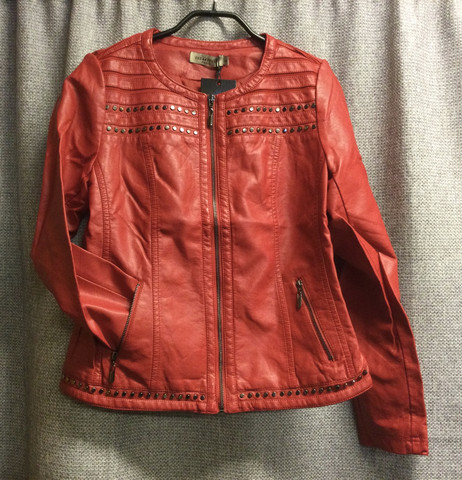 Carlu tekstiilinahkainen jakku