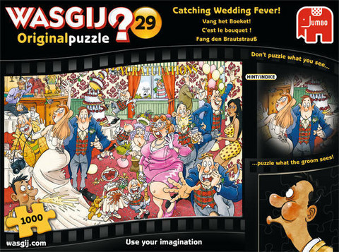 WASGIJ Original 29, catching wedding fever! - palapeli