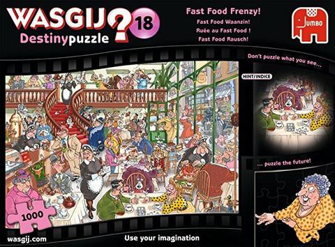 WASGIJ Destiny 18, Fast Food Frenzy- palapeli