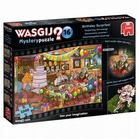 WASGIJ Mystery 16 Birthday Surprise- palapeli