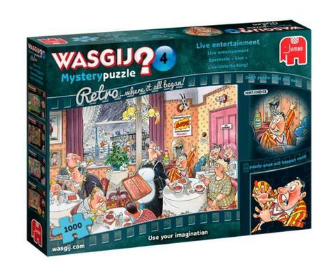 WASGIJ Retro Mystery 4 Live Entertaiment!- palapeli