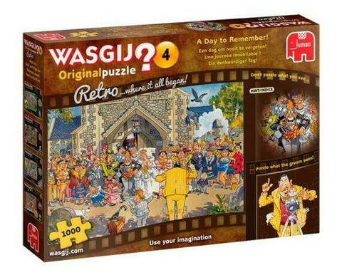WASGIJ Retro Original 4, A Day to Remember!- palapeli