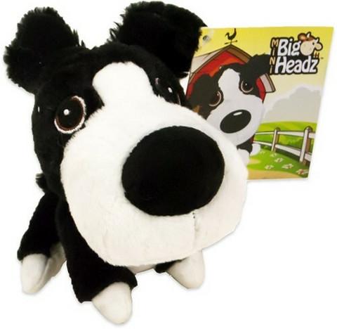 Mini Big Headz koira-pehmolelu 11cm