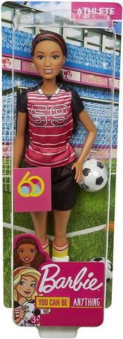 Barbie nukke, jalkapallo