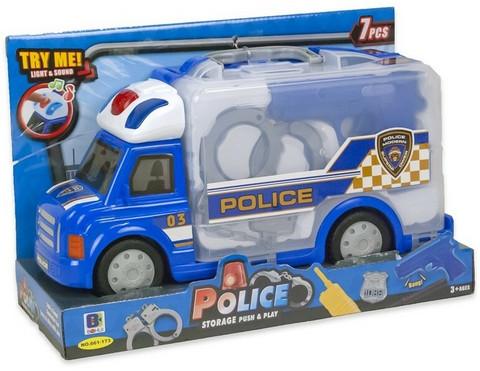 Kannettava poliisiauto