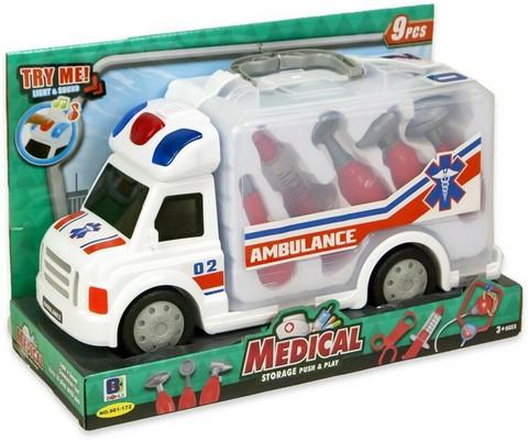 Kannettava ambulanssi
