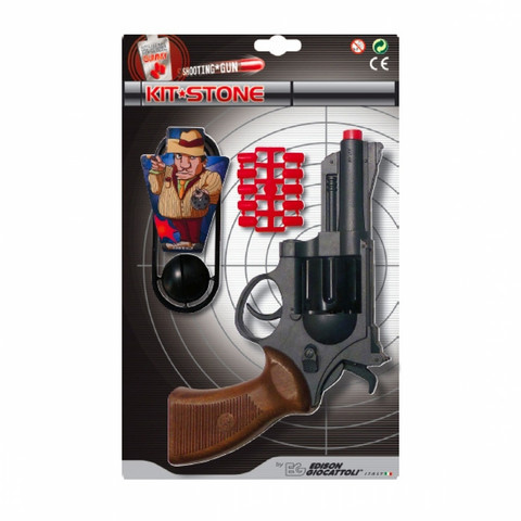 Edison Kit Stone ase,10ammusta ja maalitaulut
