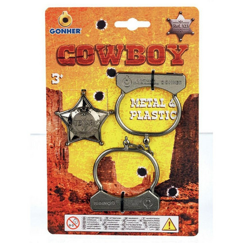 Sheriffin tähti ja käsiraudat