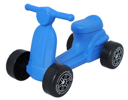 Plasto skootteri, sininen