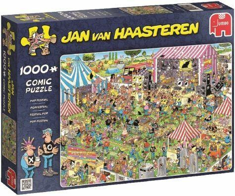 Jan van Haasteren, Pop Festival- palapeli, 1000 palaa