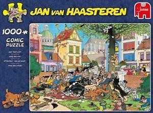 Jan van Haasteren, Get that Cat!- palapeli, 1000 palaa