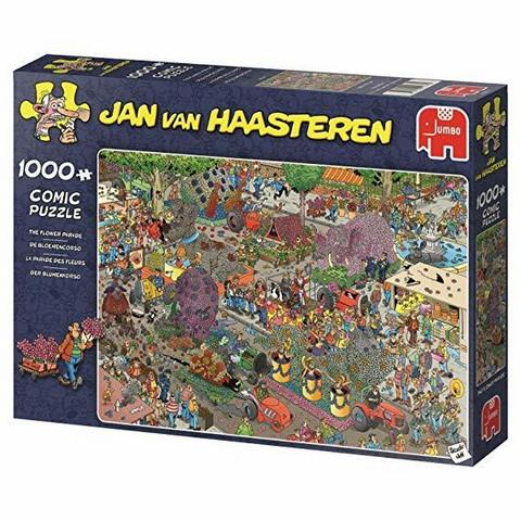 Jan Van Haasteren Kukkaparaati-palapeli, 1000palaa