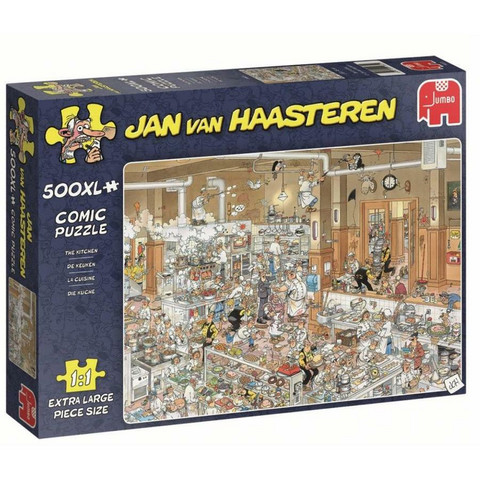 Jan Van Haasteren Keittiö- palapeli, 500palaa XL