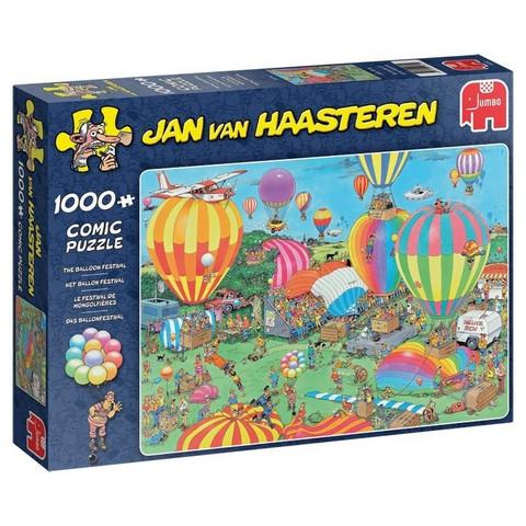 Jan Van Haasteren Kuumailmapallot 1000 palaa