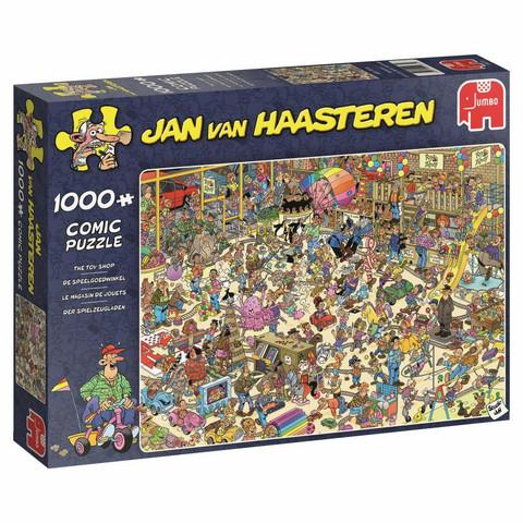 Jan Van Haasteren Lelukauppa 1000palaa