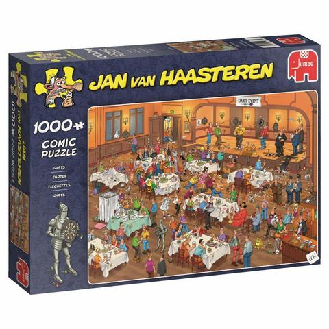 Jan Van Haasteren Tikkakisat 1000 palaa