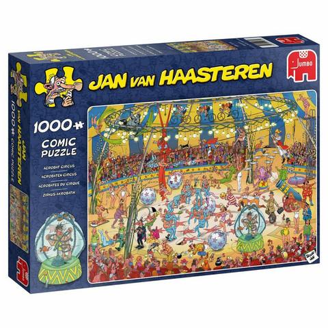 Jan Van Haasteren Akrobaatti sirkus 1000 palaa