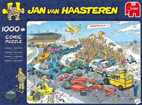 Jan Van Haasteren Formula 1 The Start 1000palaa