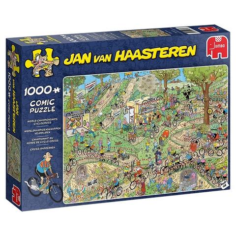 Jan Van Haasteren Maastopyöräily 1000 palaa