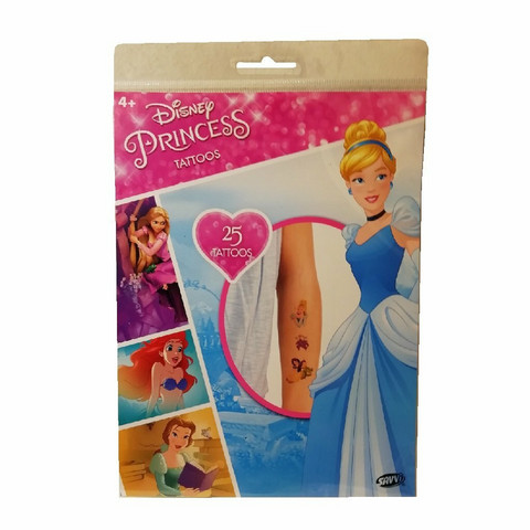 Disney Prinsessat- tatuoinnit