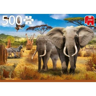 Jumbo Afrikan savanni -  palapeli