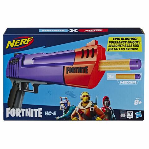 Nerf Fortnite HC-E Blaster vaahtomuoviammusase