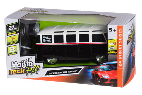 Maisto Tech R/C 1:24 VW Samba Van 27/40MHz
