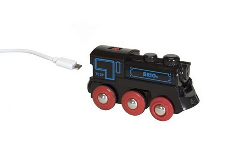 Brio Ladattava veturi mini USB- johdolla
