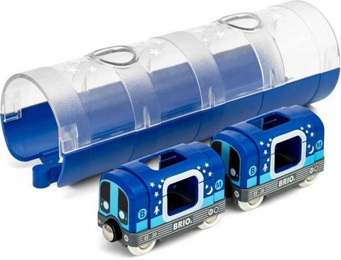 Brio Metrojuna ja tunneli 33970