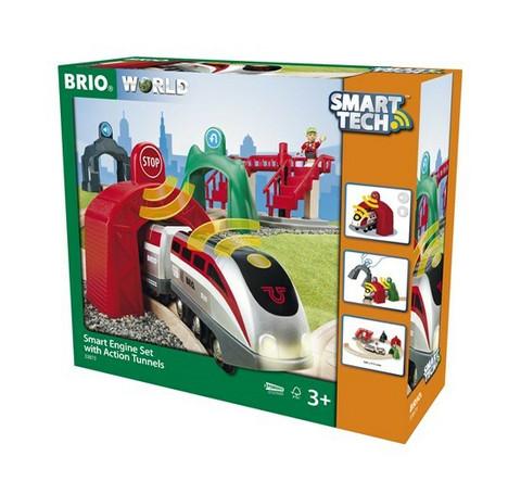 Brio Smart Tech -setti ja tunnelit 33873
