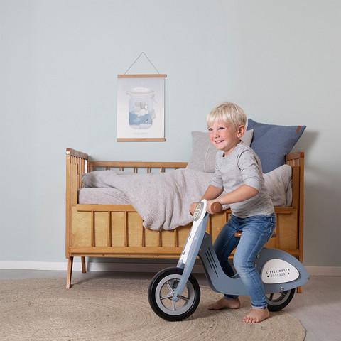 Little Dutch skootteri sininen