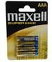 Maxell AAA/LR03 paristo 4kpl