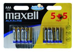 Maxell AAA/LR03 paristo 10kpl