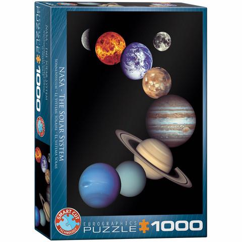 Eurographics NASA The Solar System-palapeli