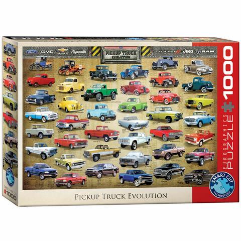 Eurographics Pickup Truck Evolution-palapeli