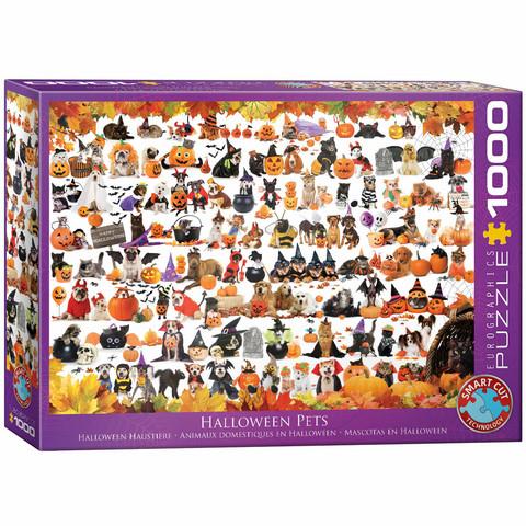Eurographics Halloween Pets-palapeli