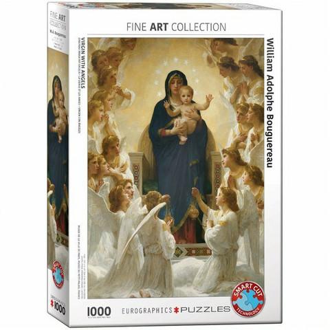 Eurographics Virgin With Angels-palapeli
