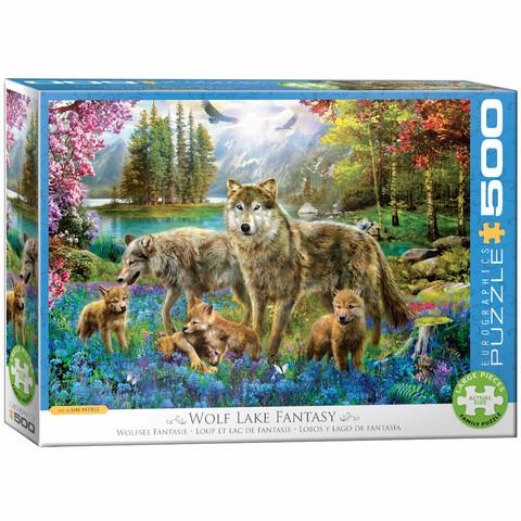 Eurographics Wolf Lake Fantasy-palapeli