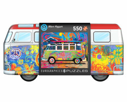 Eurographics VW Bus Wave Hopper Tin Box-palapeli