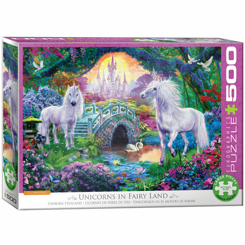 Eurographics Unicorn Fairy Land-palapeli